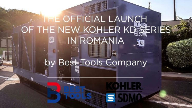 Best Tools officially launches the new KOHLER KD Series in Romania