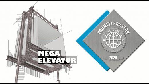 Mega Elevator – ascensor ELMAS pentru materiale
